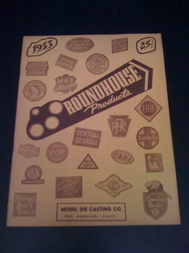 Roundhouse Products 1953 - Model Roundhouse Railroad