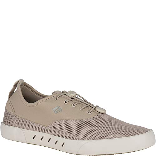 SPERRY Men's Maritime Bungee Sneaker, Khaki, 7