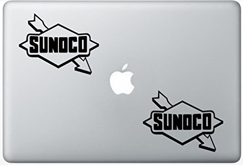 sunoco-logo-henrydecalzd0153-set-of-two-2x-decal-sticker-laptop-ipad-car-truck