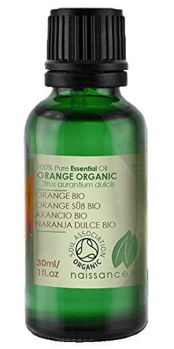 Bio Orangenöl, süß - 100% naturreines ätherisches Öl - Organisch zertifiziert - 30ml