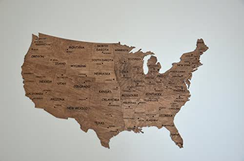 Wedding Gifts Usa: Amazon.com: Wall Map United States Map Large Map Of USA