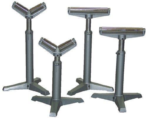Vestil STAND-H 14'' Horizontal Deluxe Roller Stand, 23'' - 38-1/2'' Height, 1760 lbs Capacity by Vestil (Image #1)