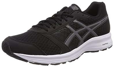 Asics Patriot 9 Zapatillas de Entrenamiento para Hombre, Negro (Black/Carbon/White 9097) 40 EU