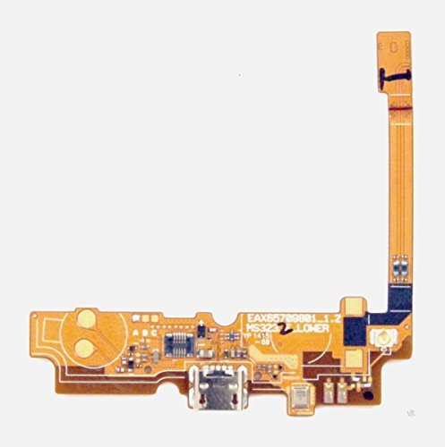 ePartSolution-LG Optimus L70 D321 D325 MS323 Micro USB Charging Charger Port & Mic Flex Cable Replacement Part USA Seller