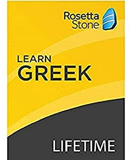 [OLD ASIN] Rosetta Stone: Learn Greek with Lifetime Access on iOS, Android, PC, and Mac [Activation Code by Mail] (B07HGNRJ1Y) | Amazon price tracker / tracking, Amazon price history charts, Amazon price watches, Amazon price drop alerts