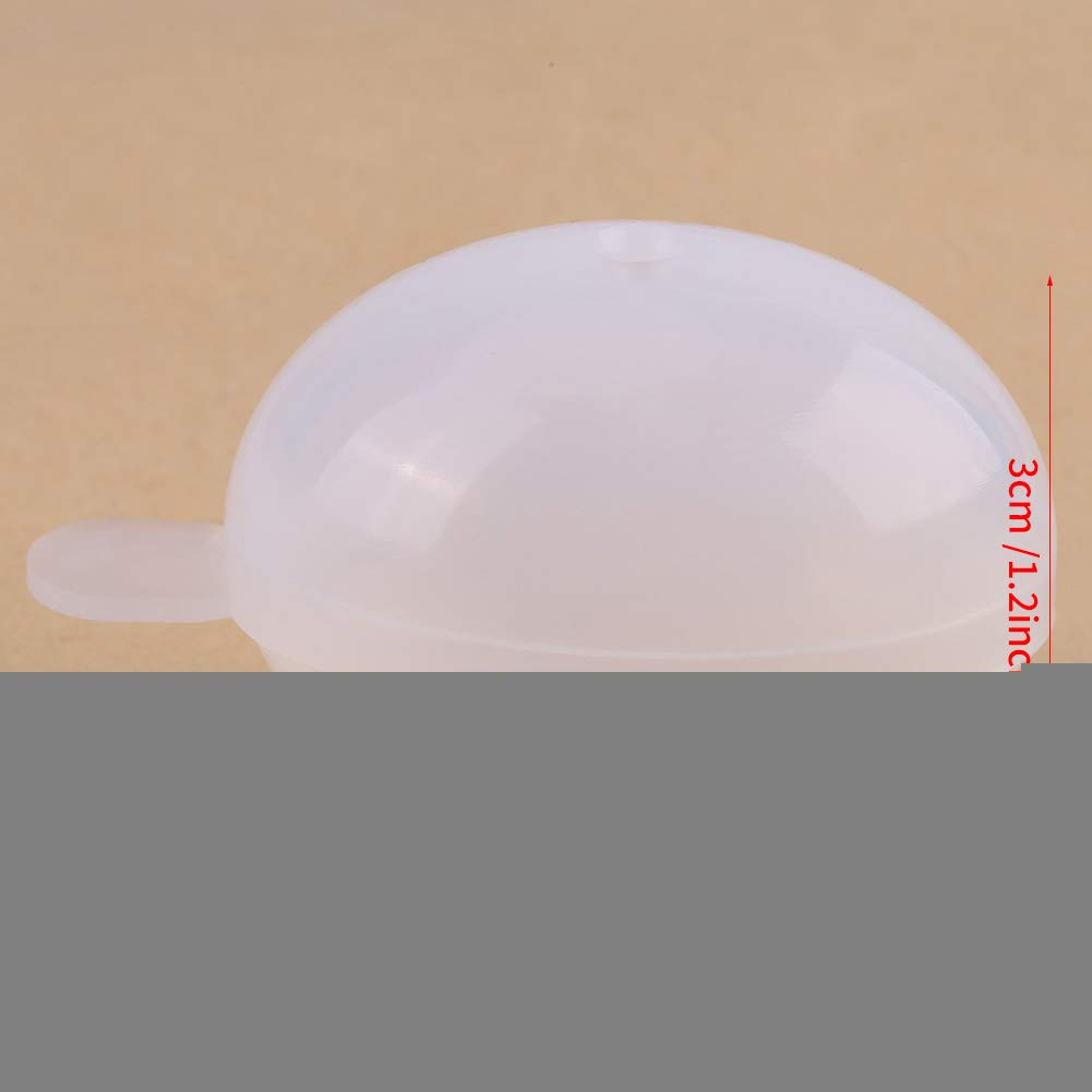 1pc molde de silicona molde de huevo silicona esférica molde horno ...