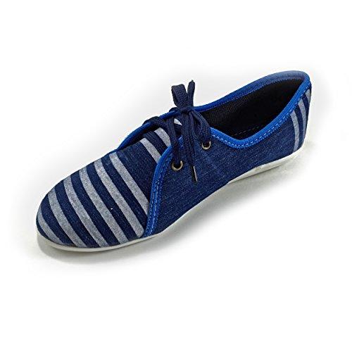 Dreamrax Womens Blue Synthetic Casual Shoe (9)