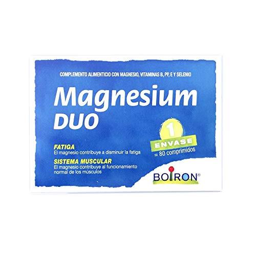 MAGNESIUM DUO 80 Comprimidos Boiron: Amazon.es: Salud y cuidado ...