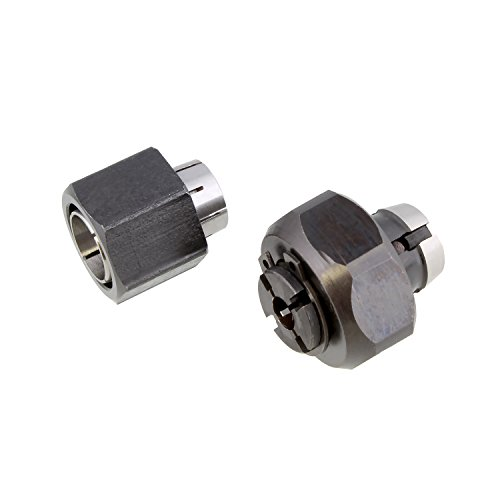 Superior Electric 2 piece Router Collet Kit 1/4