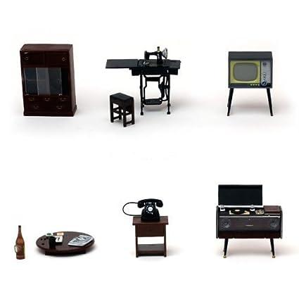 Amazon.com: Furniture model dollhouse RinMart original 790 ...