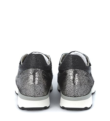 SNEAKER CITY NERA/TWEED/GLITTE - 36