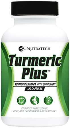 Turmeric Plus 120 Capsules -Turmeric Curcumin 95% with Bioperine Black Pepper Extract for Maximum Absorption. Strongest Potency of 2,000mg per Day. Powerful Anti-Oxidant and Anti-Inflammatory Support.