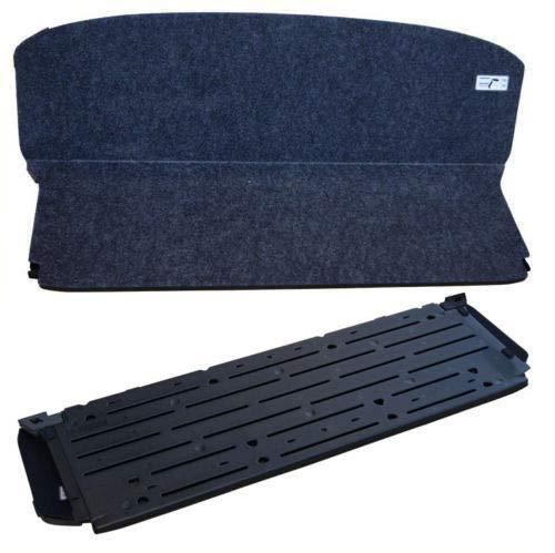 T-Foot Cargo Shelf Board Cover Trunk Floding for 07-11 Honda CR-V CRV OE Style Black