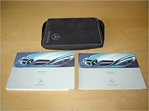 MERCEDES BENZ W171 / R171 SLK CLASS OWNERS MANUAL HANDBOOK With WALLET  (2004   2011)   SLK 200 KOMPRESSOR SLK 280 SLK 350 SLK 55 AMG (SLK200  SLK280 SLK350 ...