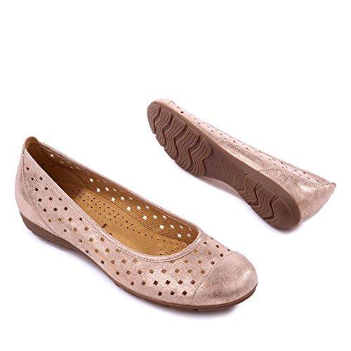 Damen Gold 44 Ballerinas 169 Gabor qw1Svn