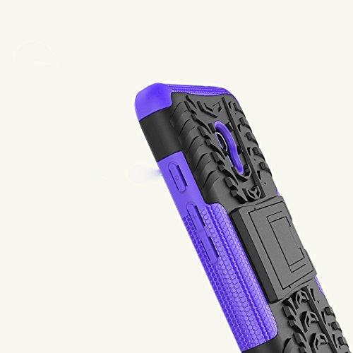 OFU®Para Orange Dive 51 Smartphone, Híbrido caja de la armadura para el teléfono Orange Dive 51 resistente a prueba de golpes contra la lucha de viaje accesorios esenciales del teléfono-rojo naranja