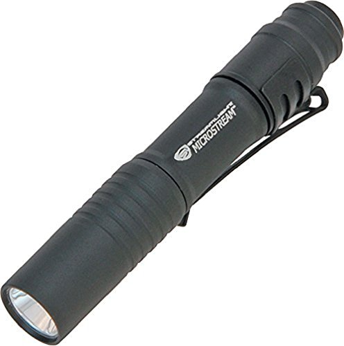 Microstream High Powered Led Penlight (Streamlight 66318 MicroStream Ultra-compact Aluminum body Flashlight with AAA Alkaline Battery)