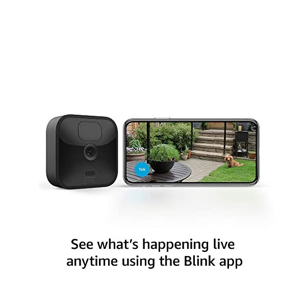 All-new Blink Outdoor – wireless, weather-resistant HD security camera with two-year battery life and motion detection… 6