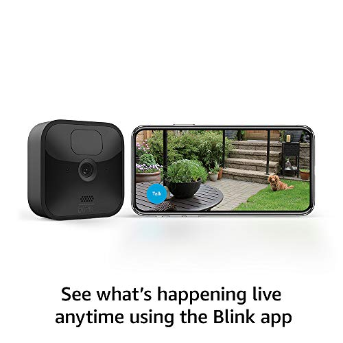 Echo Show 5 (Charcoal) with All-new Blink Outdoor- 2 camera kit