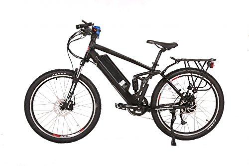 (X-Treme E-Bikes Rubicon 48 Volt Electric Bike | Black)
