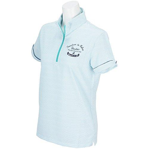 ブリヂストン BRIDGESTONE ゴルフウェア レディース PARADISO パラディーゾ 半袖ハーフジップシャツ 4SJ02A