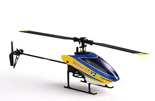 Walkera Genius CP V2 2.4G 6CH 3D RC Helicopter RTF With DEVO 7 DEVO7 Transmitter