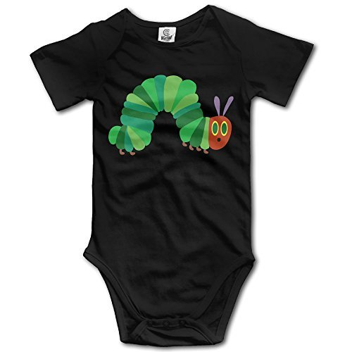 The Very Hungry Caterpillar Baby Girls/Boys Short Sleeve Bodysuit]()