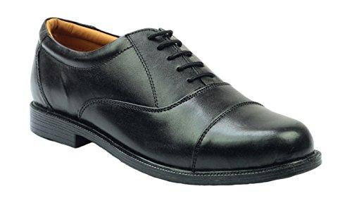 Amblers Lace-Up Lined Mens Shoes - Black - Size 12