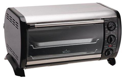 Rival Countertop Oven - Horno (Horno eléctrico, Mecánico): Amazon.es: Hogar