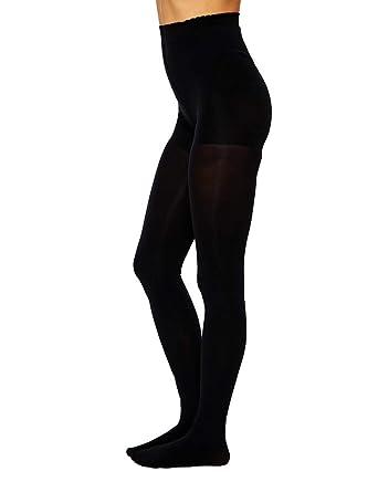97092c227715c Gipsy 100 Denier Tum, Bum & Thigh Opaque Shaper Tights: Amazon.co.uk:  Clothing