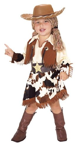 Rubie's Costume Co Yarn Babies Cowgirl Kid's Halloween Costume -
