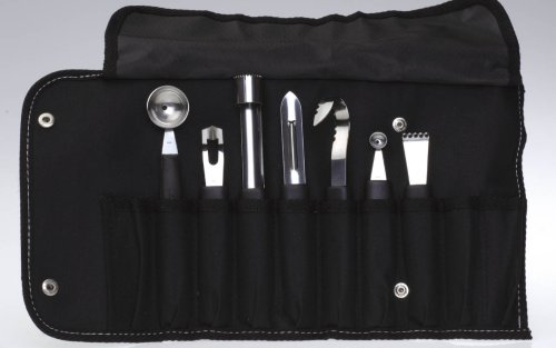 Garnishing Set (BLACK, 1) by Berghoff