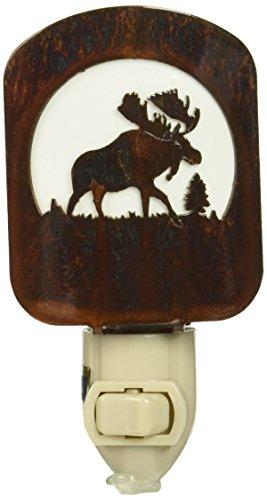 Thirstystone BNLMOHP LAZ NL Moose Nightlight HP, Honey Pinion