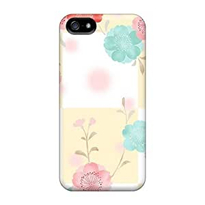 Durable Defender Case For Case Samsung Note 4 Cover PC Cover(checkered Flowers)