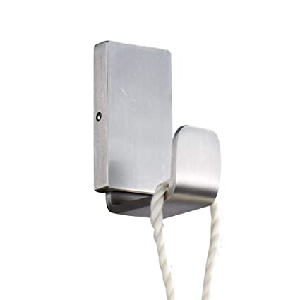 CYX Silver Urban Style Coat Hook Sleek