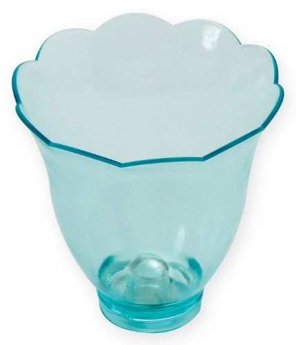 Rosseto Liteware Blossom Green Party Pack, Set of 12 Flower Cups