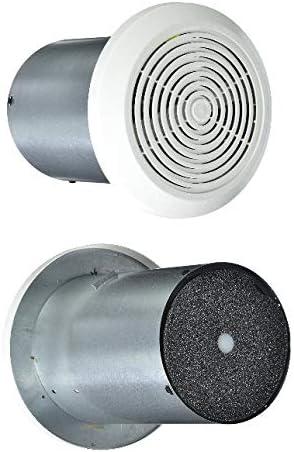 New Ultra-quiet 7 Mobile Home Ventline Bath Exhaust Fan w White Cover 1pc