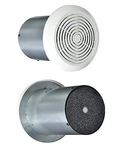 "New Ultra-quiet 7"" Mobile Home Ventline Bath Exhaust Fan (w/White Cover) (1pc)"