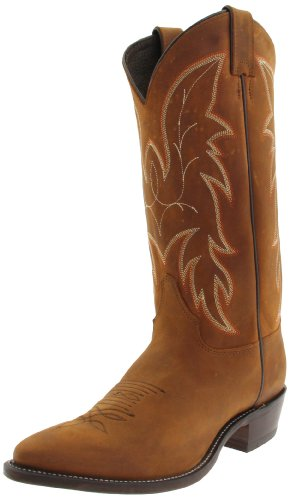 Bay Cowgirl Apache Boots - Justin Boots Men's U.S.A. 13