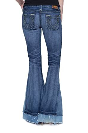 True Religion Flare Leg Jeans CARRIE LOVE & HAIGHT, Color: Blue, Size: 28