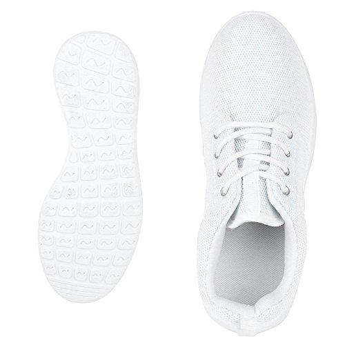 Laufschuhe Unisex All Sneakers Damen Schnüren Sportschuhe Flache Profilsohle fashion napoli Jennika Weiss Herren Freizeitschuhe qUHXfnTBxw
