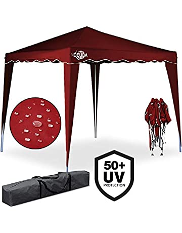 Deuba Pop Up Gazebo Capri 3 x 3 m – Carpa Plegable (Color Choice –