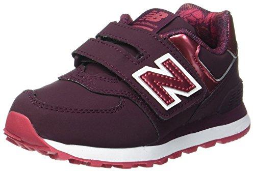 Rojo Zapatos burgundy New Zapatillas Menores Las Deporte Balance De Bajo Kv574f2y FxqzT
