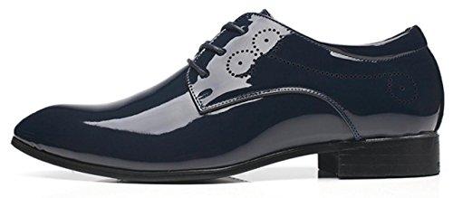 da Stile da Semplici Scarpe Derby XWZG Grandi Lavoro Scarpe Uomo Scarpe Britannico Barbiere da Stringate blue qBxv7wxY