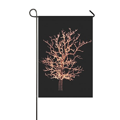 Home Decorative Outdoor Double Sided Christmas Tree Xmas Lights Lights Christmas Xmas Garden Flag,house Yard Flag,garden Yard Decorations,seasonal Welcome Outdoor Flag 12 X 18 Inch Spring Summer Gift