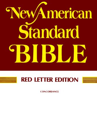Holy Bible New American Standard: Red Letter Edition, Paragraphed
