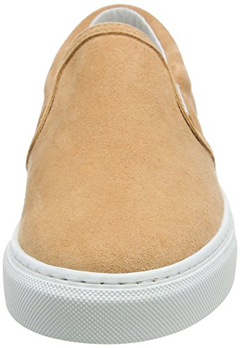 Adulte Wood Shoes Quinn Sneakers Slip on Beige Peach Rose Wood Mixte Basses qw841q