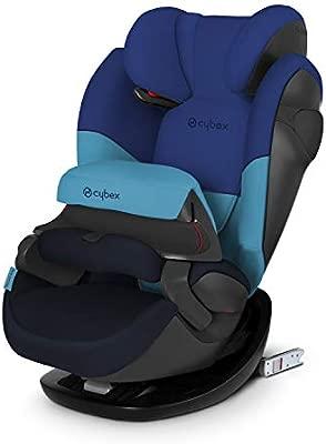 Cybex Silver Pallas M-Fix 519001093 Silla de Coche Grupo 1/2/3, 2 en 1 para Niños, para Coches con y sin Isofix, Colección Color 2019, Azul (Blue ...