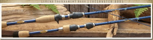 St. Croix Legend Tourny Bass Casting Rod, TBC74HF