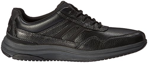 Rockport Mens Edmund Fashion Sneaker- Schwarz